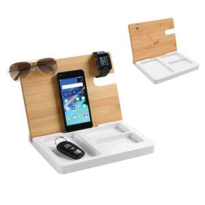 Carica smartphone wireless con svuotatasche
