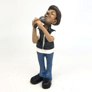 Statuina, caricatura mestiere, professione Cantante uomo