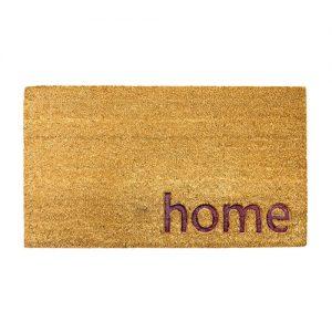 Zerbino Ingresso Home in cocco marrone naturale 70x40