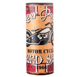 Portaombrelli Motor Cycle in MDF e Canvas 49x20x20 cm