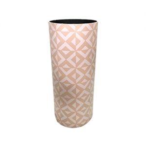 Portaombrelli Design geometrico moderno in MDF e Canvas 50x20x20 cm.